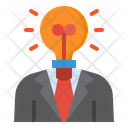 Business Idea Idea Business Man Icon