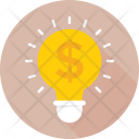 Business Invention Bulb Icon