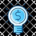Business Idea Light Icon