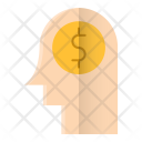 Money Thinking Business Icon