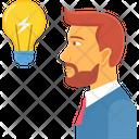 Business Idea Man Icon