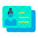 Business Identity Card Icon