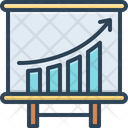 Business Increase Gained Achievement Icon