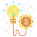 Mcreativity Business Innovation Dollar Icon