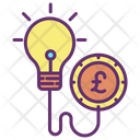 Minvestment Idea Business Innovation Pound Icon