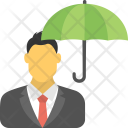 Business Insurance Umbrella Icon