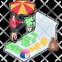 Business Insurance Business Assurance Business Protection Icon