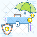 Money Insurance Financial Insurance Safe Investment Icon