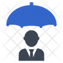 Businessman Secure Security Icon