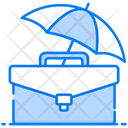 Business Insurance Corporate Safety Trade Protection Icon