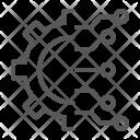 Business Intelligence Cog Icon