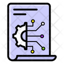 Business Intelligence Bi File File Configuration Icon