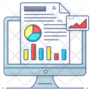Analytical Business Business Intelligence Analytical Graph Icon