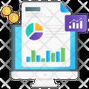 Data Analytics Financial Analytics Statistical Analysis Icon