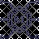 Business Intelligence Technology B 1 Chip Icon