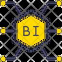 Business Intelligence Analytics Business Analytics Icon