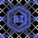Business Intelligence Tech Ai Icon