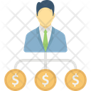 Business Investment Business Plan Financial Hierarchy Icon