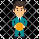 Investor Financier Entrepreneur Icon