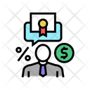 Business Investor Investor Businessman Icon