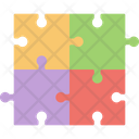 Business Jigsaw Puzzle Business Team Cofounder Icon
