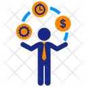 Business Juggler Icon