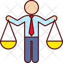 Business Justice Icon