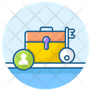 Business Key Business Access Portfolio Icon