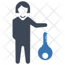 Business Key Business Security Icon