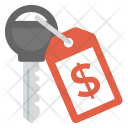 Business Key Finance Icon