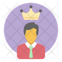 Business King Icon