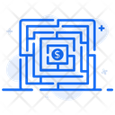 Labyrinth Business Solution Entanglement Icon