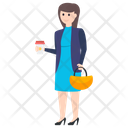 Business Lady Avatar Icon