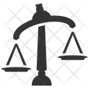 Choice Law Scale Icon