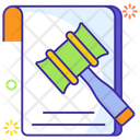 Business Law Business File Legal File Icon