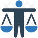 Business Law Balance Scale Law Icon