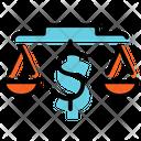 Business Law Plan Presentation Icon