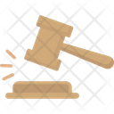 Law Auction Hammer Icon