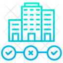 Business Leads Building Icon