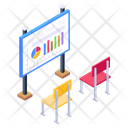 Business Presentation Business Lecture Classroom Icon