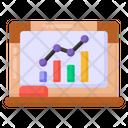 Business Lecture Descriptive Data Business Presentation Icon