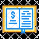 Business Literature Color Icon