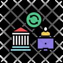 Business Loan Mortgage Loan Finance Icon