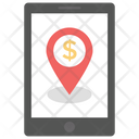 Finding Location Business App Business Location Icon