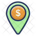 Business Location Bank Location Financial Center Pin Icon
