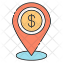Business Location Financial Location Financial Navigation Icon