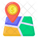 Financial Location Business Location Business Navigation Icon