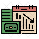 Business Lose Deficit Stock Icon