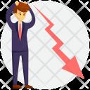 Concept Entrepreneur Failed Icon