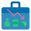 Business Losses Business Failure Low Icon